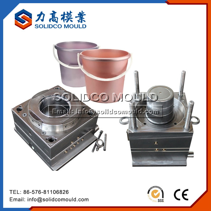 Plastic 5L Round Bucket Mould