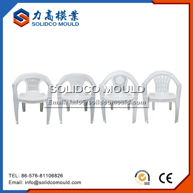 Plastic White Baby Chairs Mould