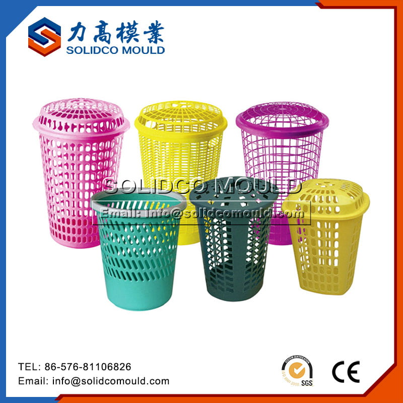 Custom Plastic Laundry Basket Mould