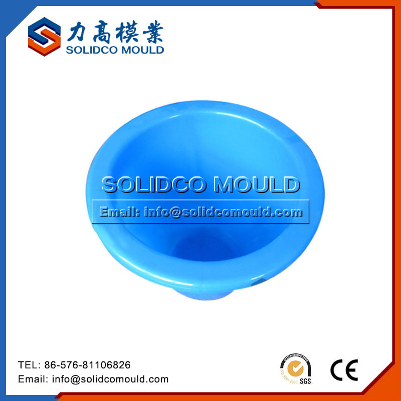 Plastic round wash/hand basin mould