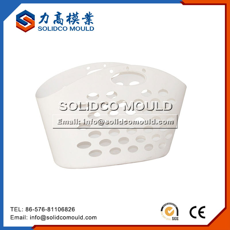 Plastic Portable Shopping Basket Mould
