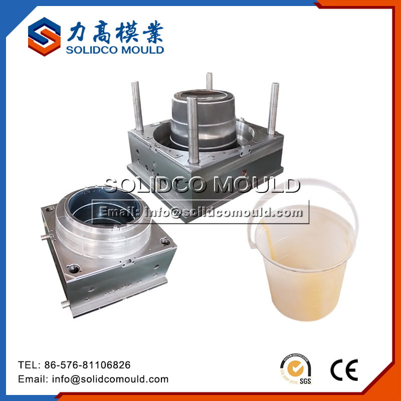 Plastic water bucket mould