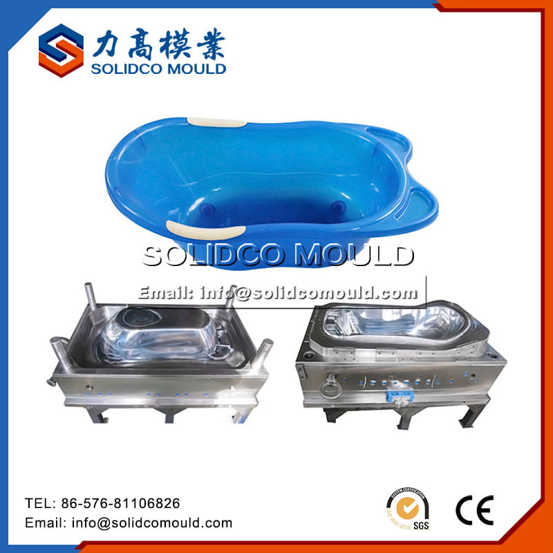 Custom Plastic Baby Bathtub Moulding