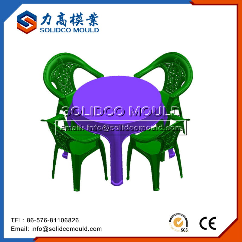Daily Use Plastic Chair And Table Mould