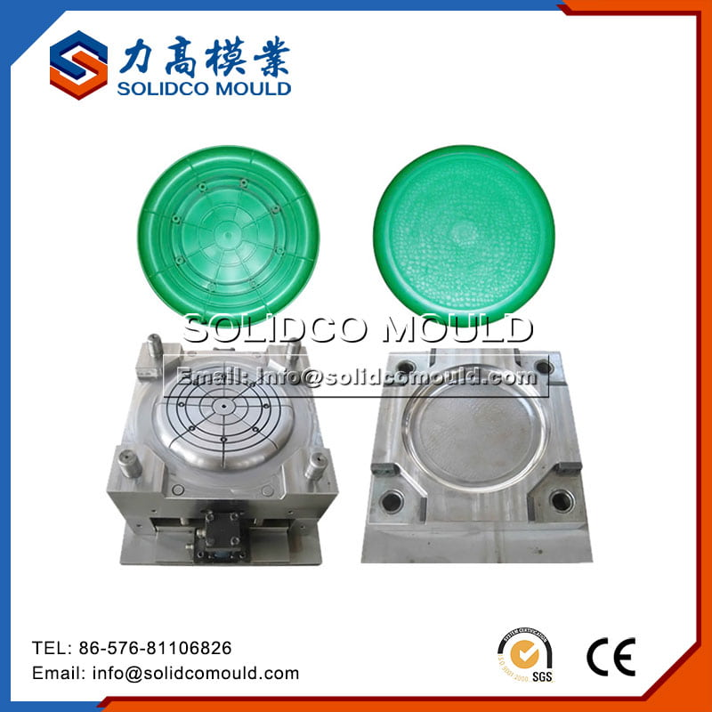 Plastic Household Kids Round Table Mould