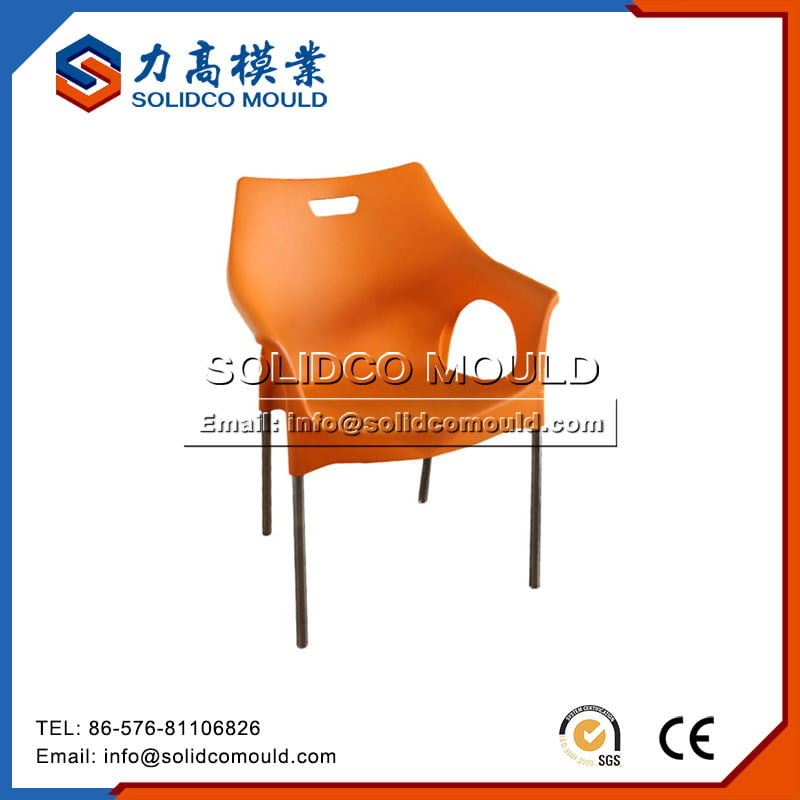 chair with metal leg mould8