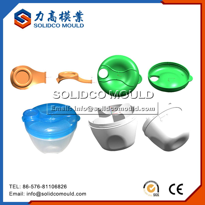 milk container mould