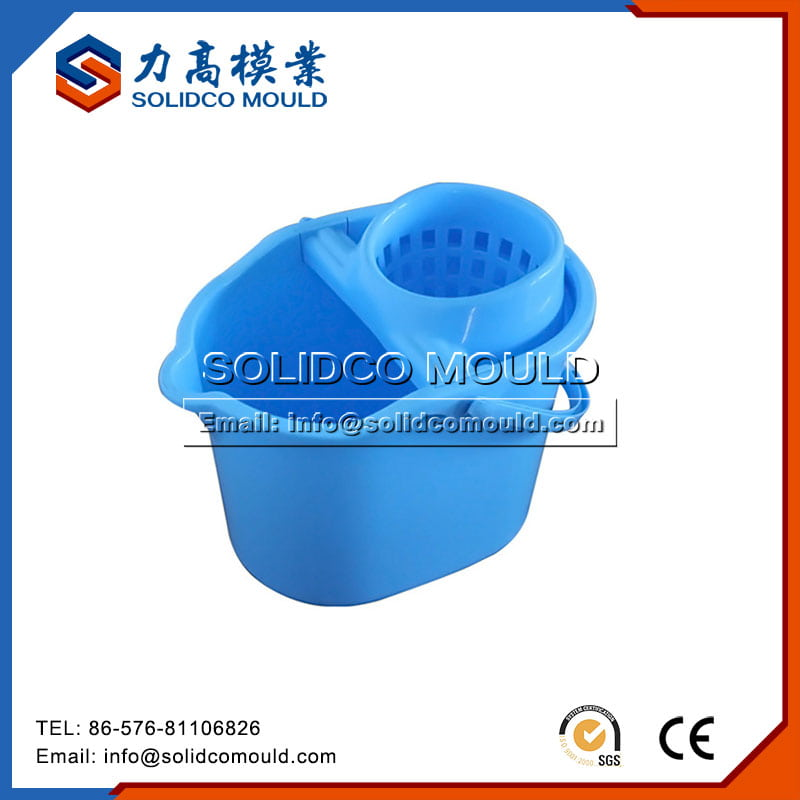 Plastic Mop Bucket Mould