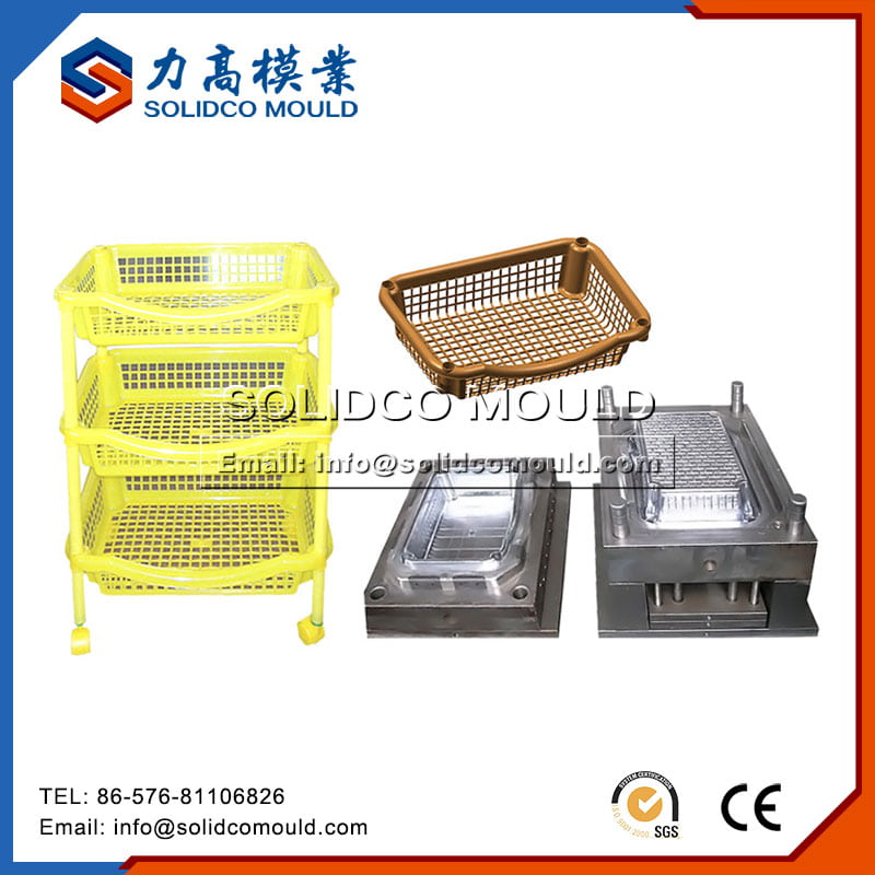 Plastic Storage Rack Mould