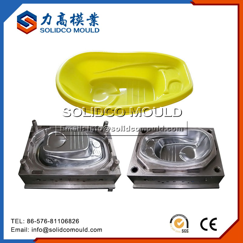 Plastic Washbasin Child Bathtub Mould