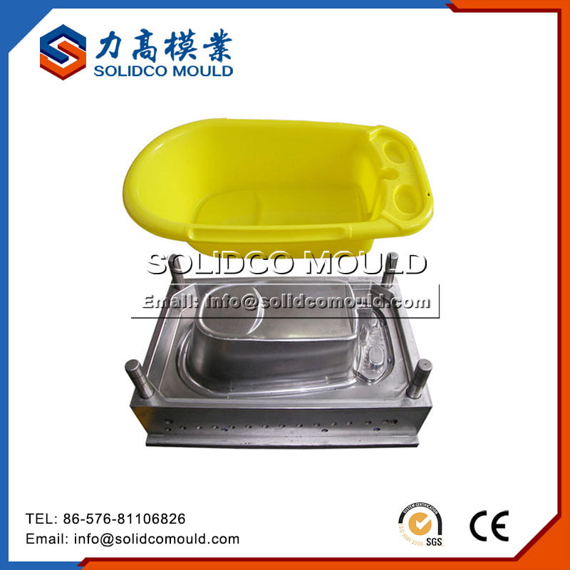 Single Cavity Baby Bathtub Mould
