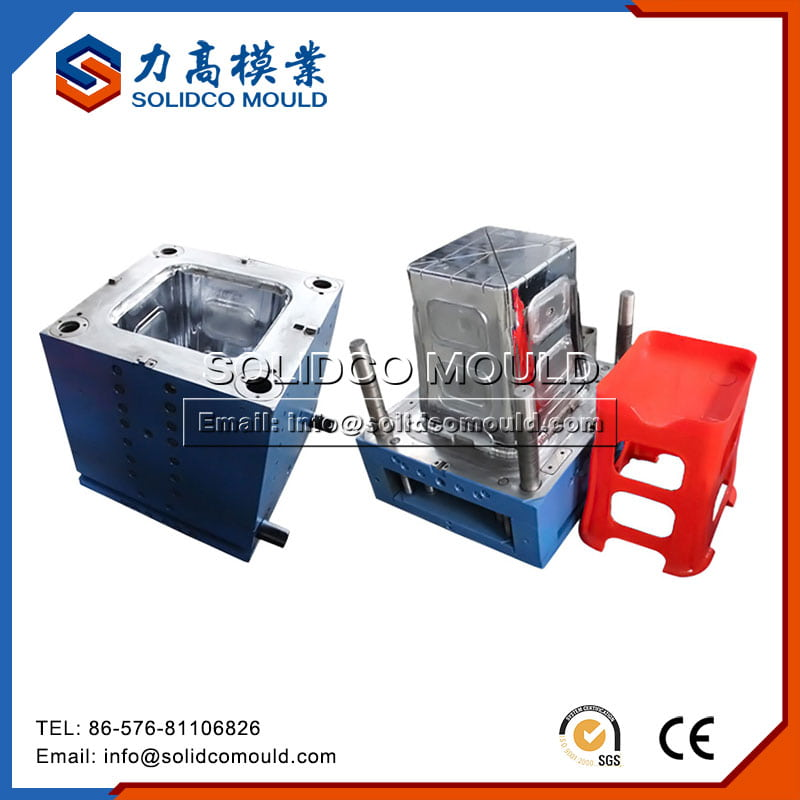 Plastic Injection Kids Stool Mould