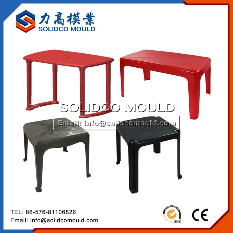Plastic household table mould