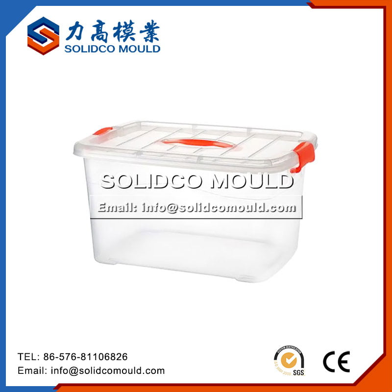 Transparent Plastic Storage Mould