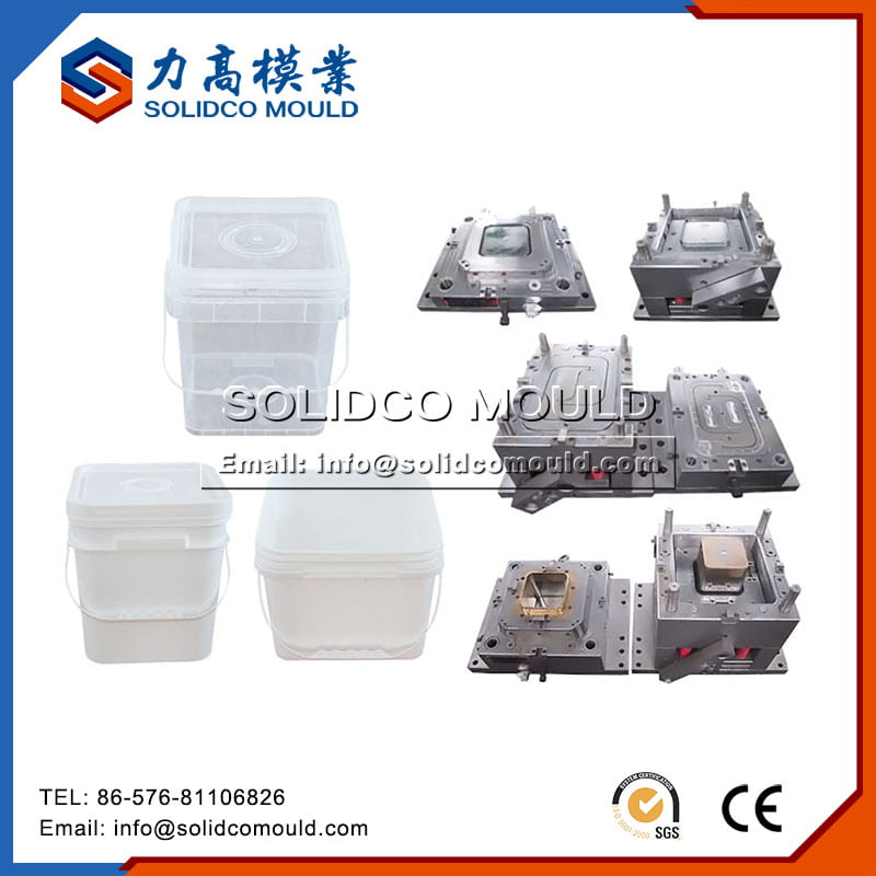PP Material Square Food Container Mould