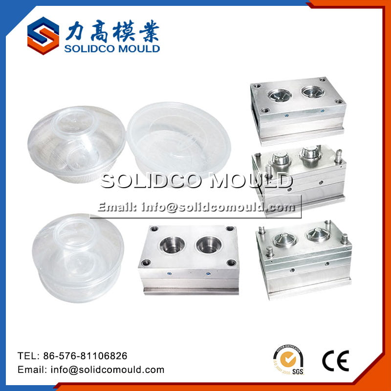 Thin Wall Round Food Container Mould