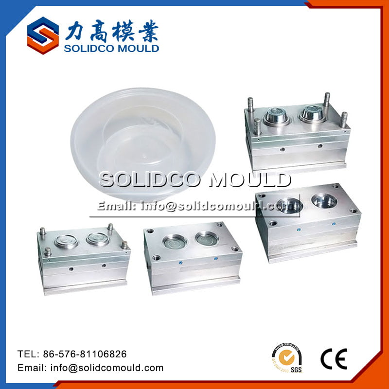 Plastic Round Food Container Mould