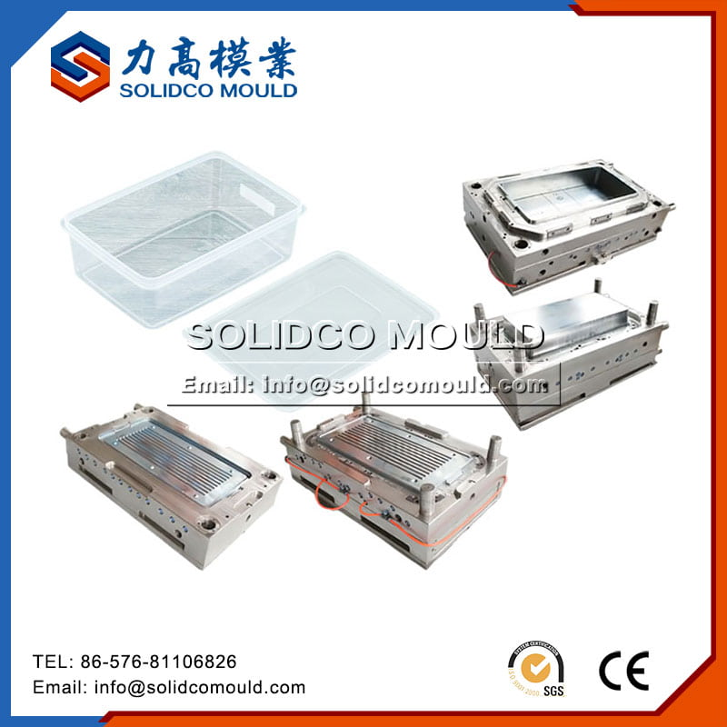 Plastic Square Food Container Mould