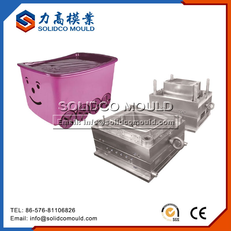 Plastic Household Storage Box Mould