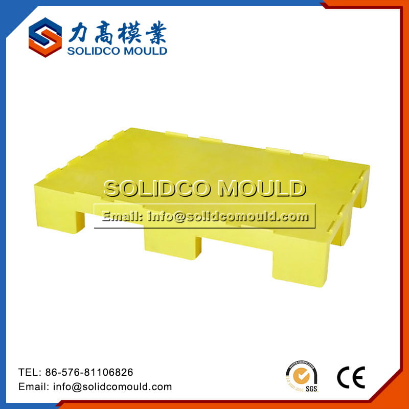 Yellow Plastic Pallet mould