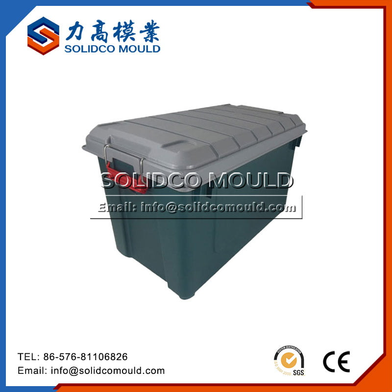 Plastic Crate With Lid Mould