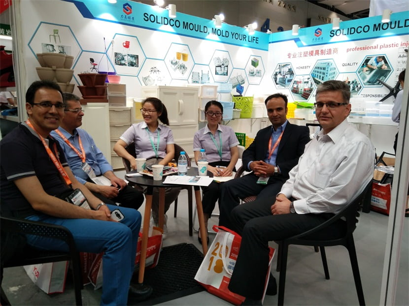 In May 2017,SOLIDCO MOULD was enthusiastic to attend the chinaplas2017 in Guangzhou,it's very successful .