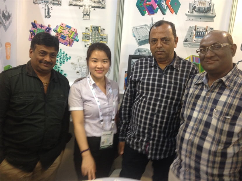 In Feb 2015,SOLIDCO MOULD attended the PLASINDIA  in Ahmadabad,India.