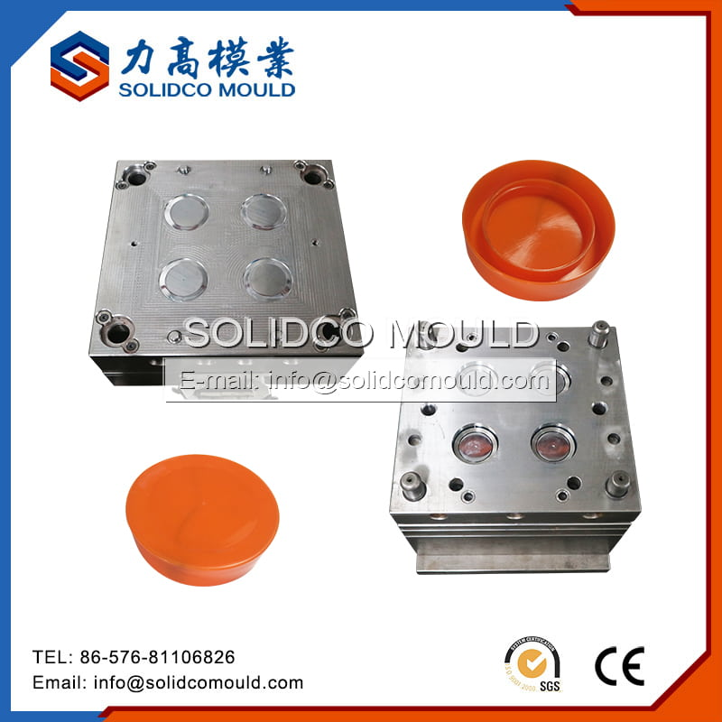 Ring Pull Cap Plastic Injection Mould