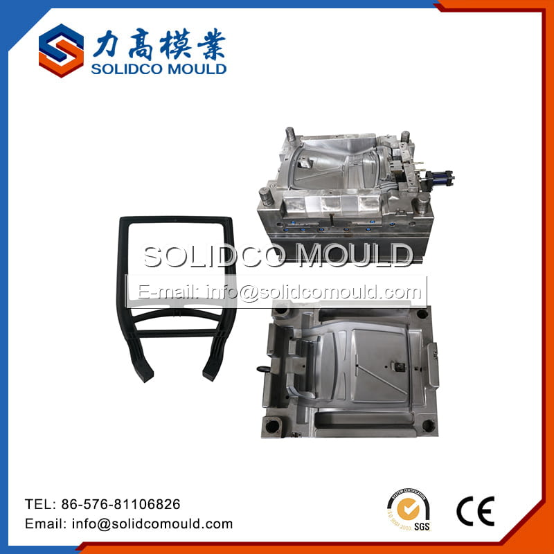 Plastic Furniture Backrest Injection Mould