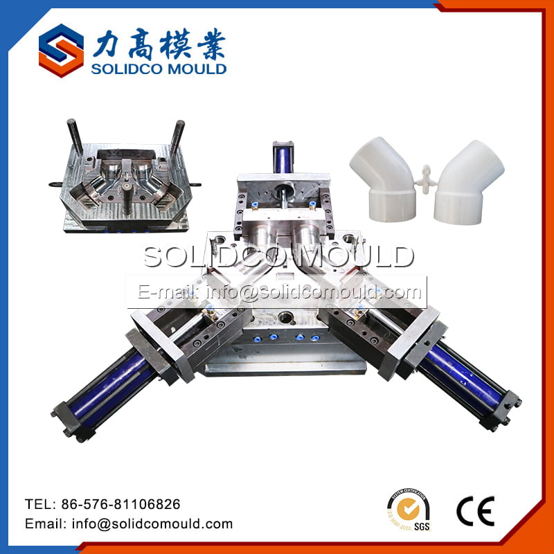 45 Degree Elbow Pipe Fitting Mould