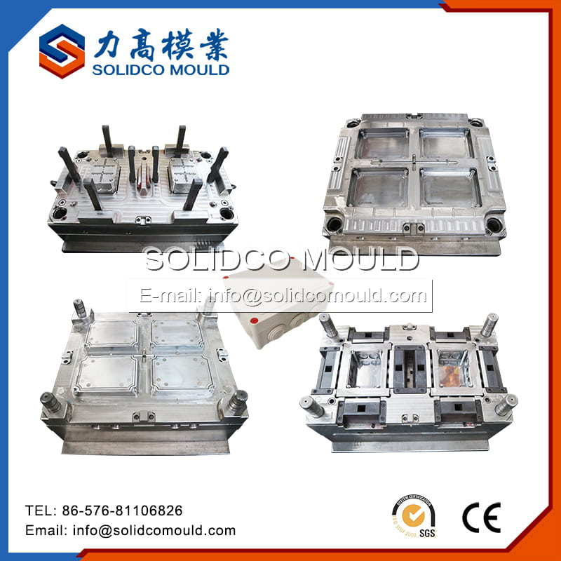 Plastic Waterproof Electrical Junction Box Mould