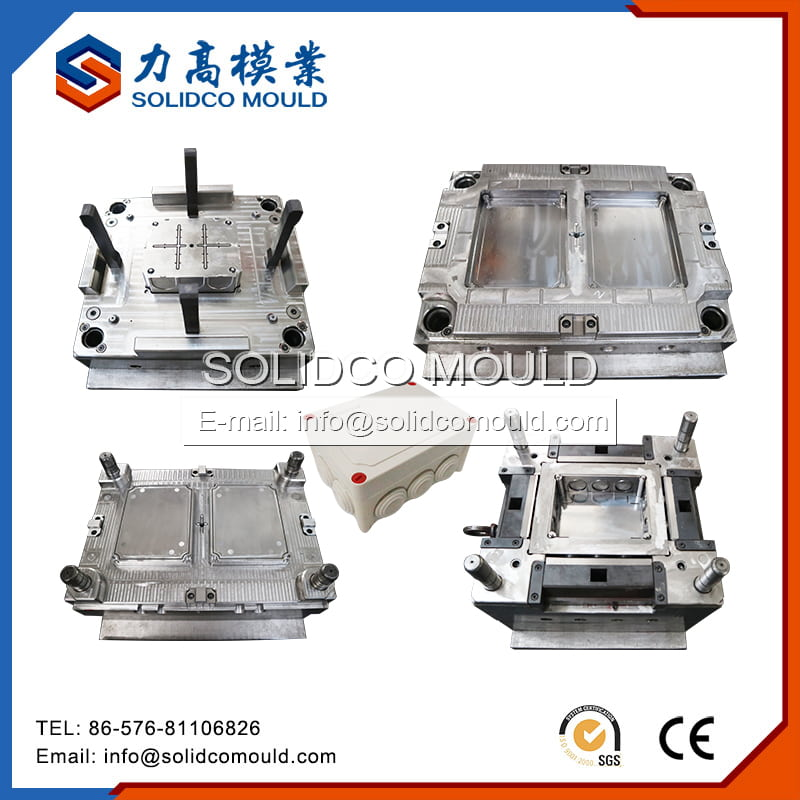 Electrical Junction Box With Lid Mould