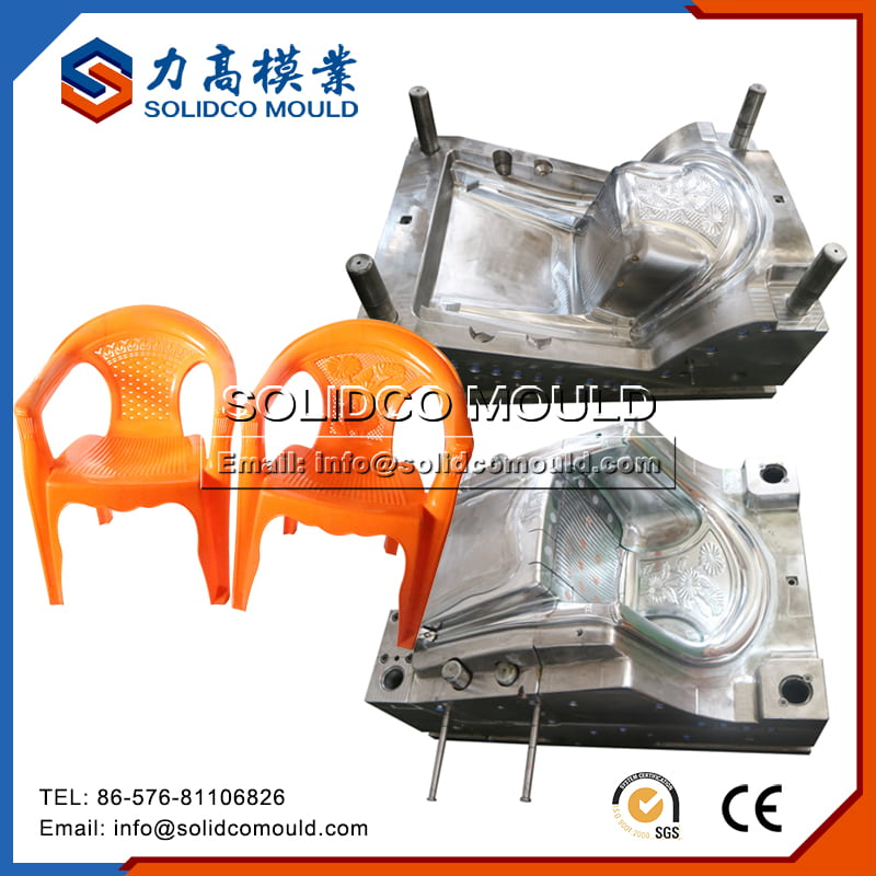 Plastic Outdoor Garden Chair Mould