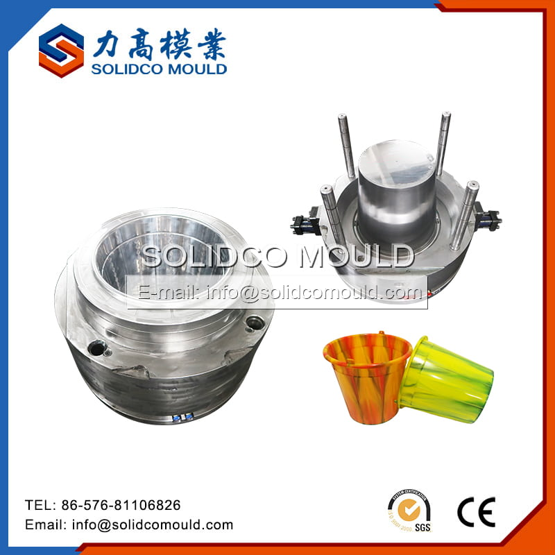 Plastic Water Bucket Injection Mould
