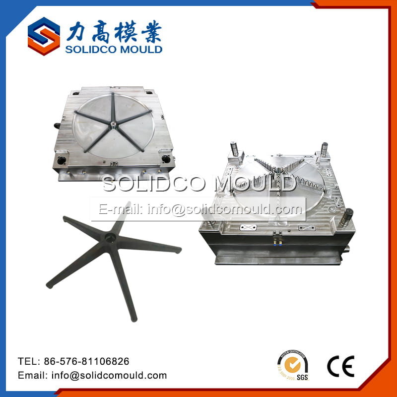 Plastic Chair Star Base Mould