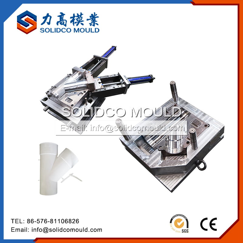 Plastic Y-Shaped Pipe Fitting Mould